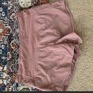Lululemon shorts mauve